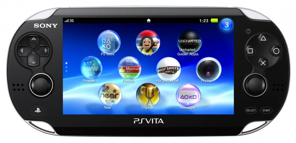 PSP Black Vita 3G