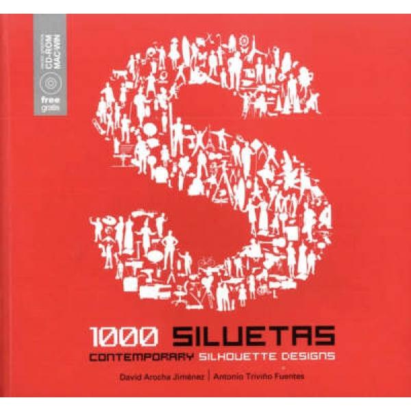 1000 Contemporary Silhouette Designs, David Jimenez