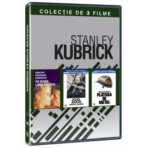 2001: SPACE ODYSSEY /  EYES WIDE SHUT /  FULL METAL JACKET-COLECTIE 3 FILME: STANLEY KUBRICK