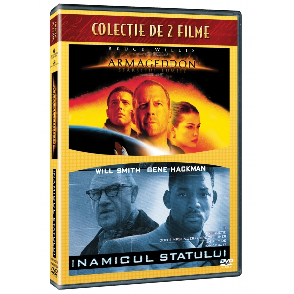 2DVD - ARMAGEDDON / ENEMY OF THE STATE-2DVD-ARMAGEDDON/INAMICUL STATULUI