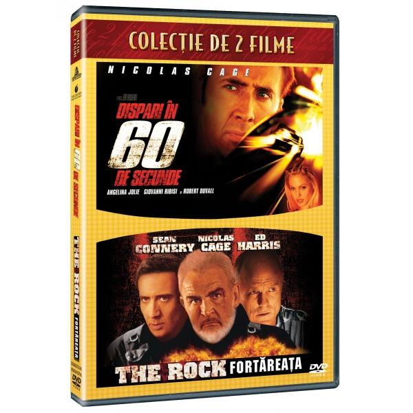 2DVD - GONE IN 60 SECONDS / THE ROCK-2DVD-DISPARI IN 60 DE SECUNDE/FORTAREATA