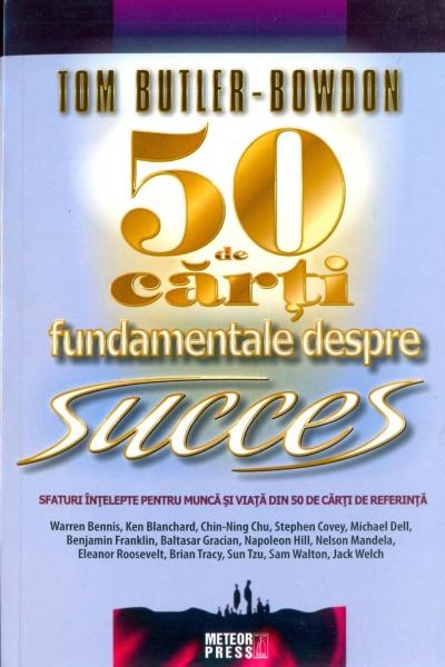 50 carti fundamentale de succes - Tom butler, Bowdon