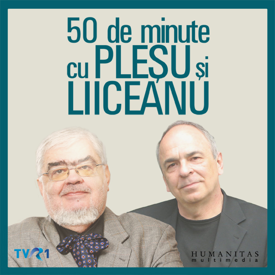 50 de minute cu Plesu si Liiceanu 10 cd\'s - Andrei Plesu, Gabriel Liiceanu