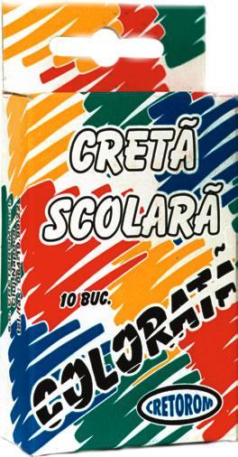 Creta colorata,10...