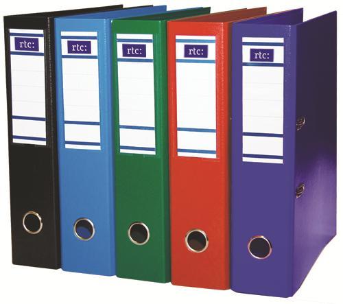 Biblioraft SELECT RTC 75mm, verde inchis