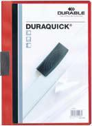 Dosar Duraquick cu c lema,20coli,rosu