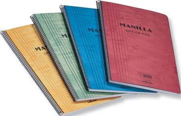 Caiet MANILLA, A5, ma 90 file