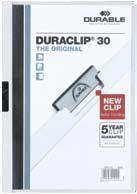 Duraclip Original 30 pt. 30 foi, alb