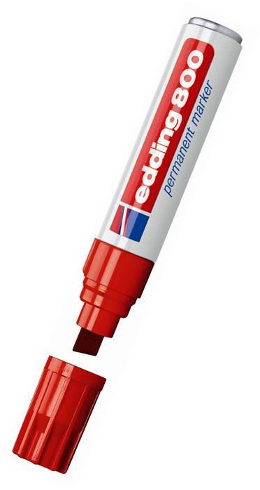 Marker permanent reinc. rosu, 4-12 mm