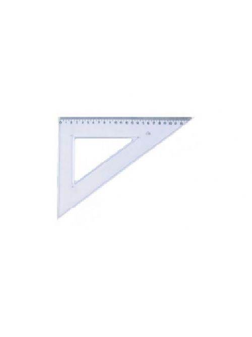 Echer 45/45,11cm,plastic transparent