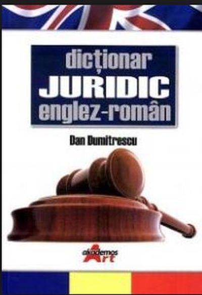 Dictionar Juridic Englez, Roman, Dan Dumitrescu