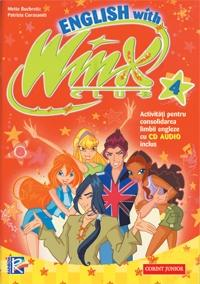 ENGLISH WITH WINX NR 4 + CD