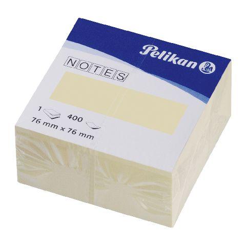 Cub notite adezive,76x76,galben,400f