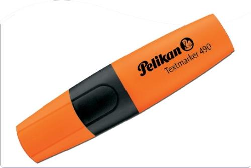 Textmarker Pelikan 490, portocaliu