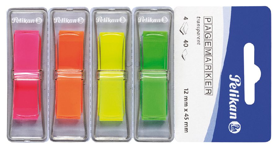 Index adeziv, 4 culori x 40 file,12x45mm