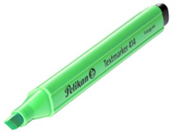 Textmarker Pelikan 414, verde fluorescen