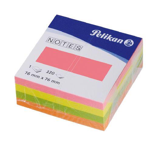 Cub notite adezive,76x76,cul neon,400f