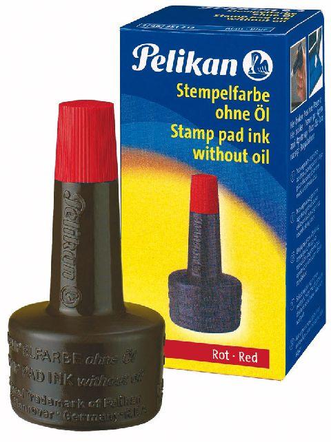 Tus stampile,Pelikan,28 ml,rosu