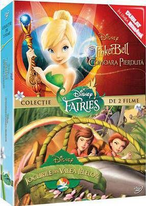 PIXIE HALLOWS GAMES + TINKER BELL 2