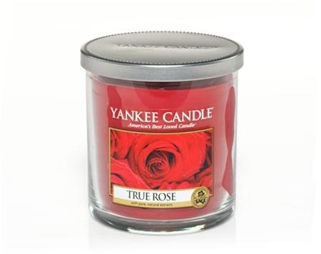 Lumanare pahar reg True Rose