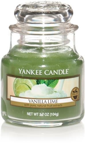 Lumanare borcan mic Vanilla Lime