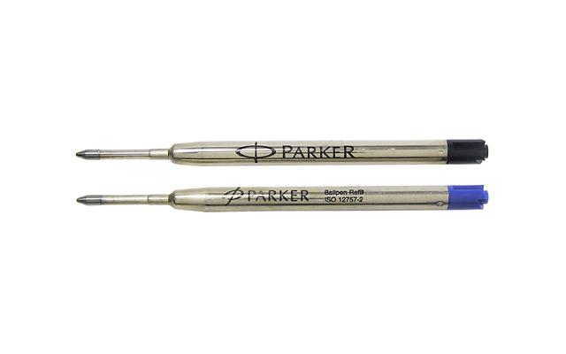 Rezerva Parker pt pix,negru,F,blister
