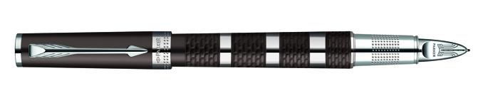 Parker Ingenuity Large Daring Brown Metal&Rubber CT, Fine/Medium Black
