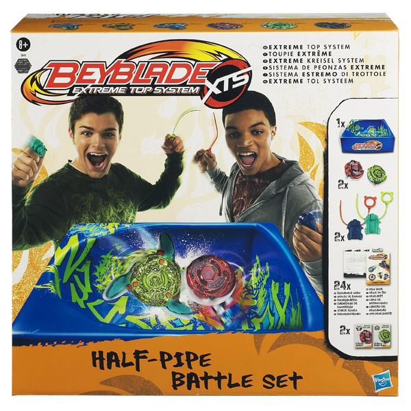 Beyblade Set de lupta Half Pipe