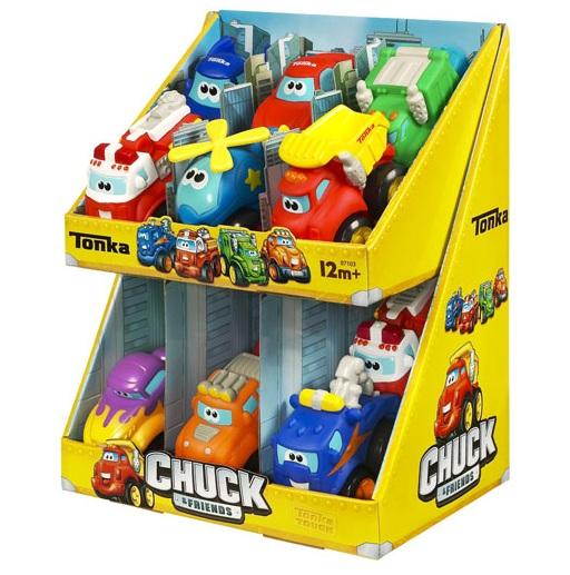 Vehicule personaje Chuck & Friends