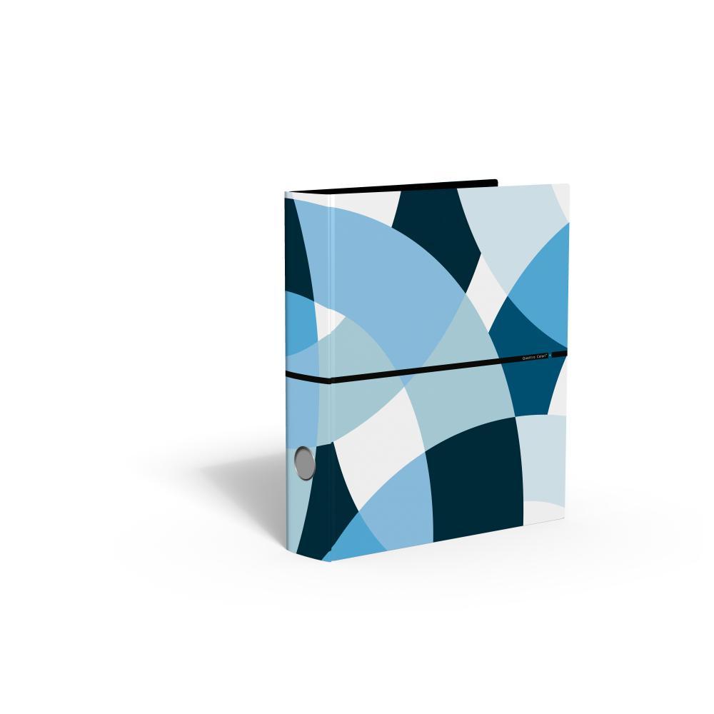 zzBiblioraft 5 cm,QuattroColori+,bleu