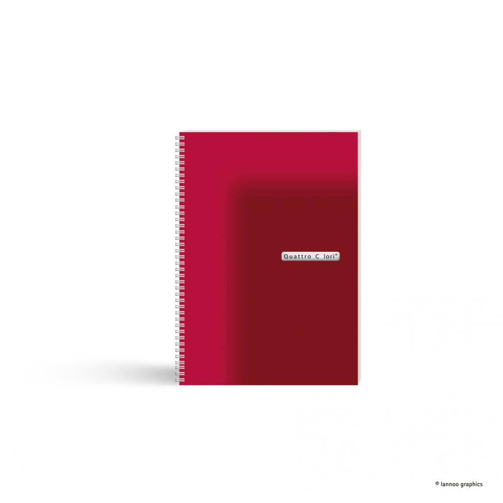 zzAgenda spira,A5,90f,QuattroColori,rosu