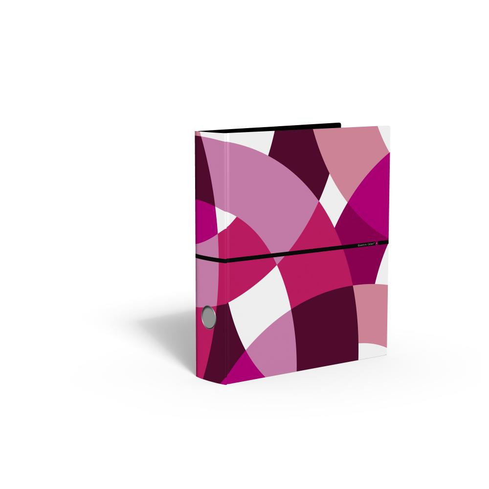 zzBiblioraft 5 cm,QuattroColori+,rosu