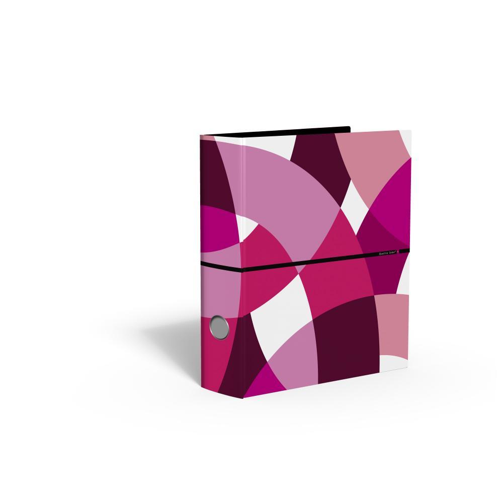 zzBiblioraft 8 cm,QuattroColori+,rosu