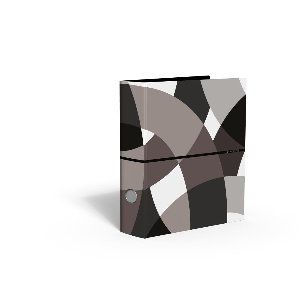 zzBiblioraft 8 cm,QuattroColori+,maro
