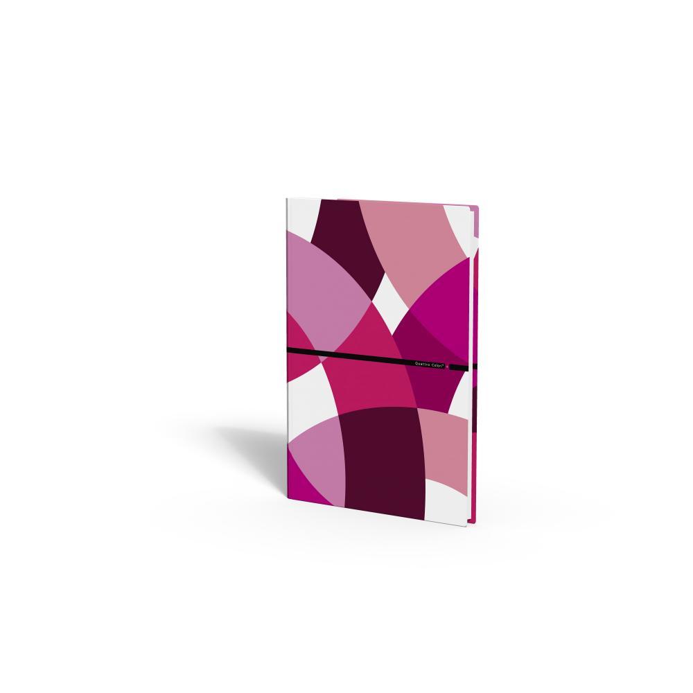 zzCaiet A4,80 file,QuattroColori+,rosu
