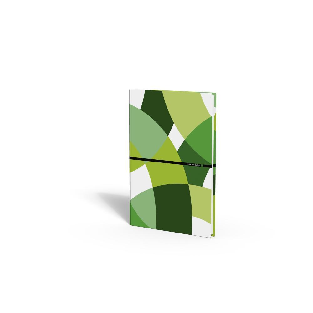zzCaiet A4,80 file,QuattroColori+,verde