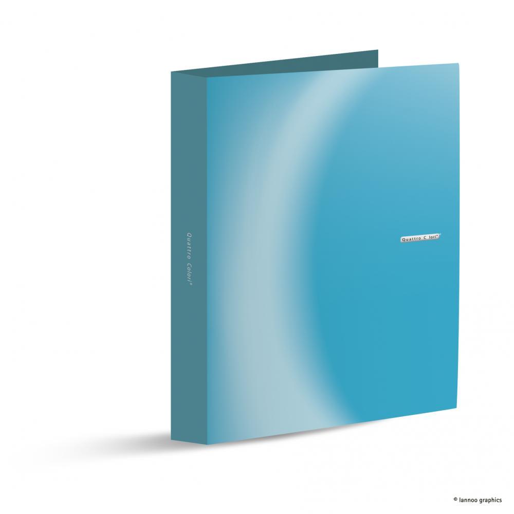 zzCaiet mec.QuattroColori,4in,5cm,bleu