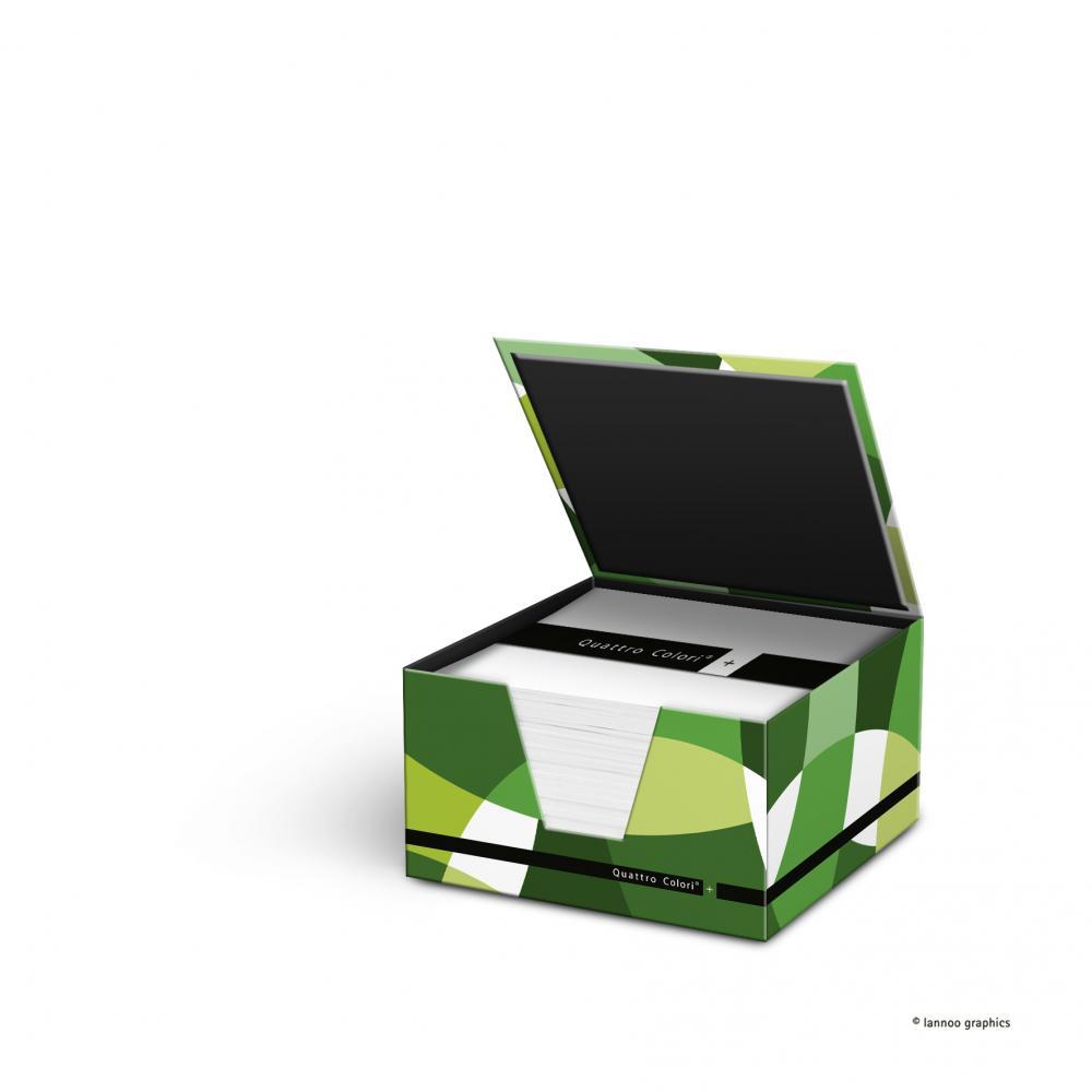 zzCub hartie suport,400,QuattroColori+,verde