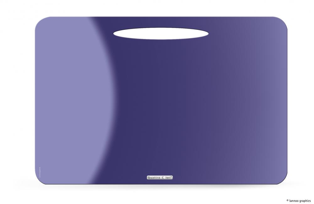 zzMapa birou QuattroColori,PP,violet