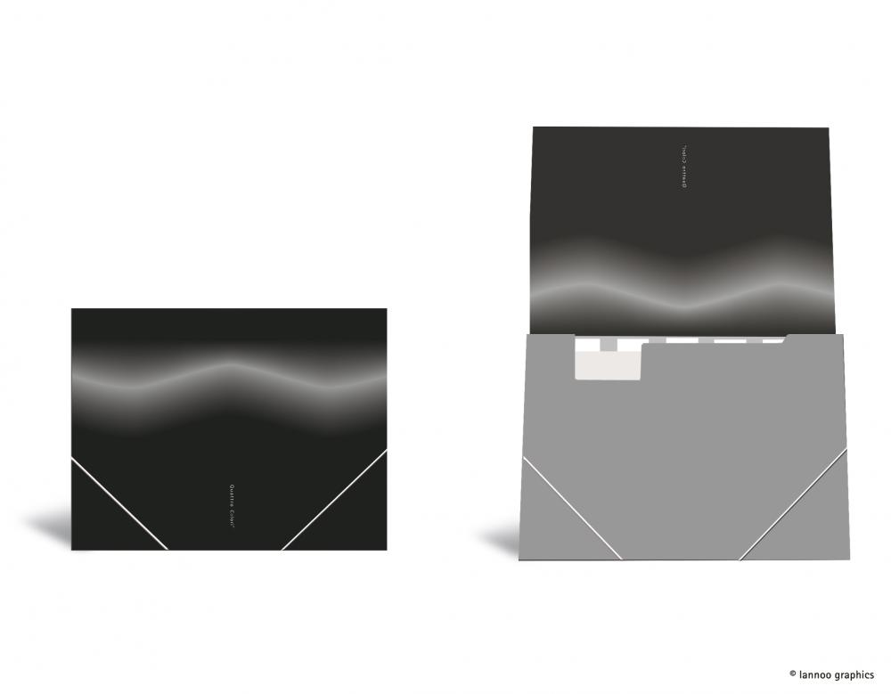 zzMapa cu elastic ,QuattroColori,negru