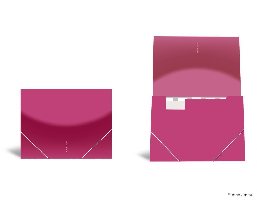zzMapa cu elastic ,QuattroColori,roz