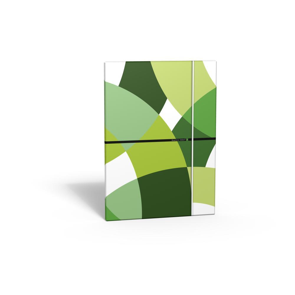 zzMapa cu elastic,QuattroColori+,verde