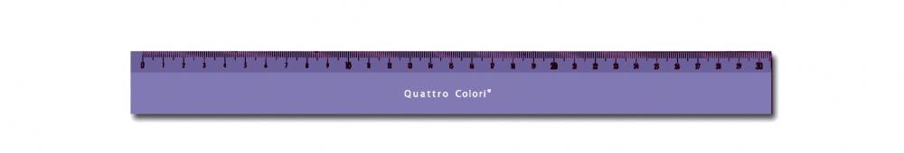 zzRigla 30 cm,QuattroColori,violet