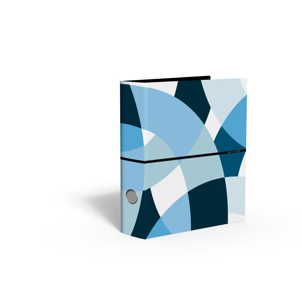 zzBiblioraft 8 cm,QuattroColori+,bleu