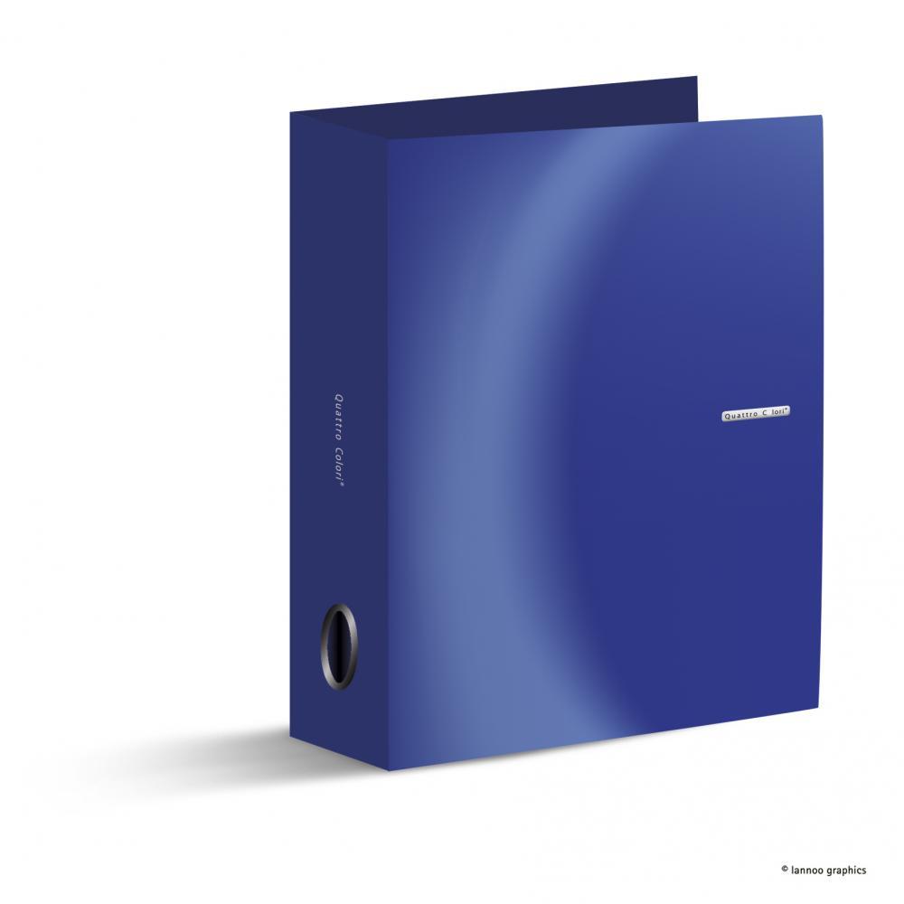 zzBiblioraft QuattroColori,8cm,albastru
