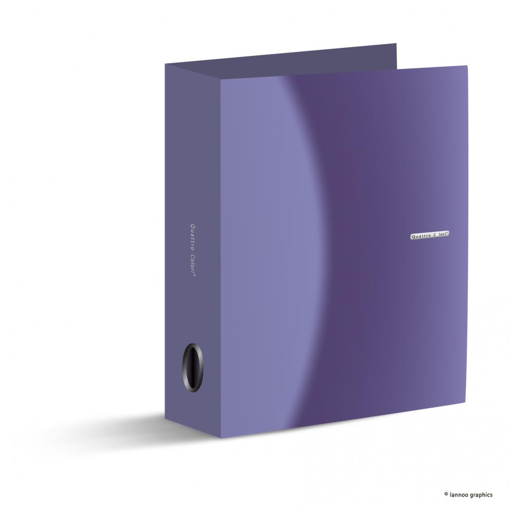 zzBiblioraft QuattroColori,8cm,violet