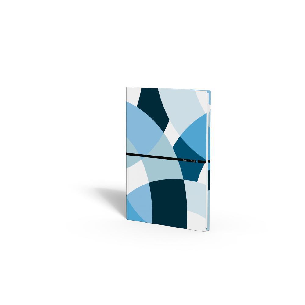 zzCaiet A4,80 file,QuattroColori+,bleu