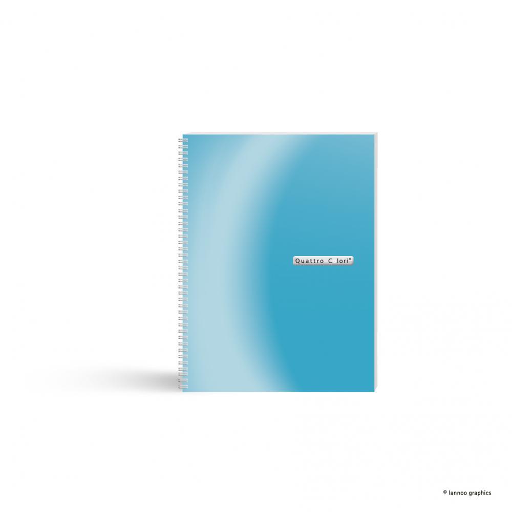 zzCaiet spira, A5,120f,QuattroColori,bleu