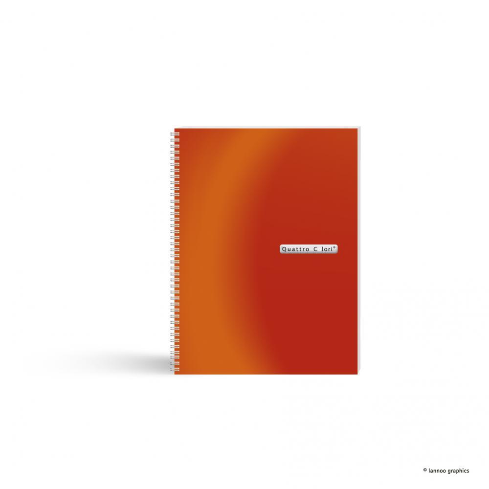 zzCaiet spira, A5,120f,QuattroColori,oran