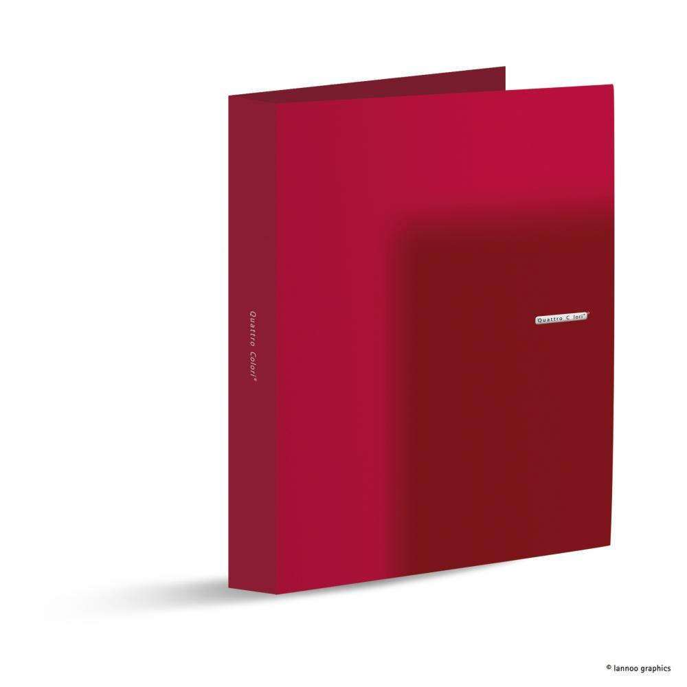 zzCaiet mec.QuattroColori,4in,5cm,rosu